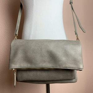Clutch and Cross Body Expanding Purse